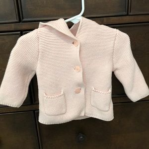 New Baby Gap Brannan Bear Girl Blush Sweater